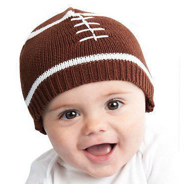Newborn Hats Boy Fresh touchdown Baby Boy Knit Hat Football Beanie In Brown Of Great 44 Pics Newborn Hats Boy