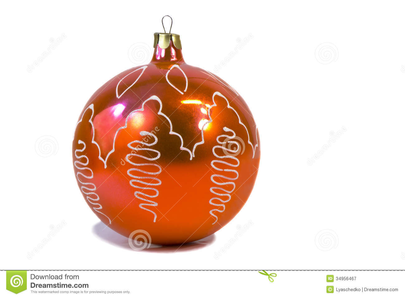 Decorations For Christmas Trees Red Beautiful Balloon