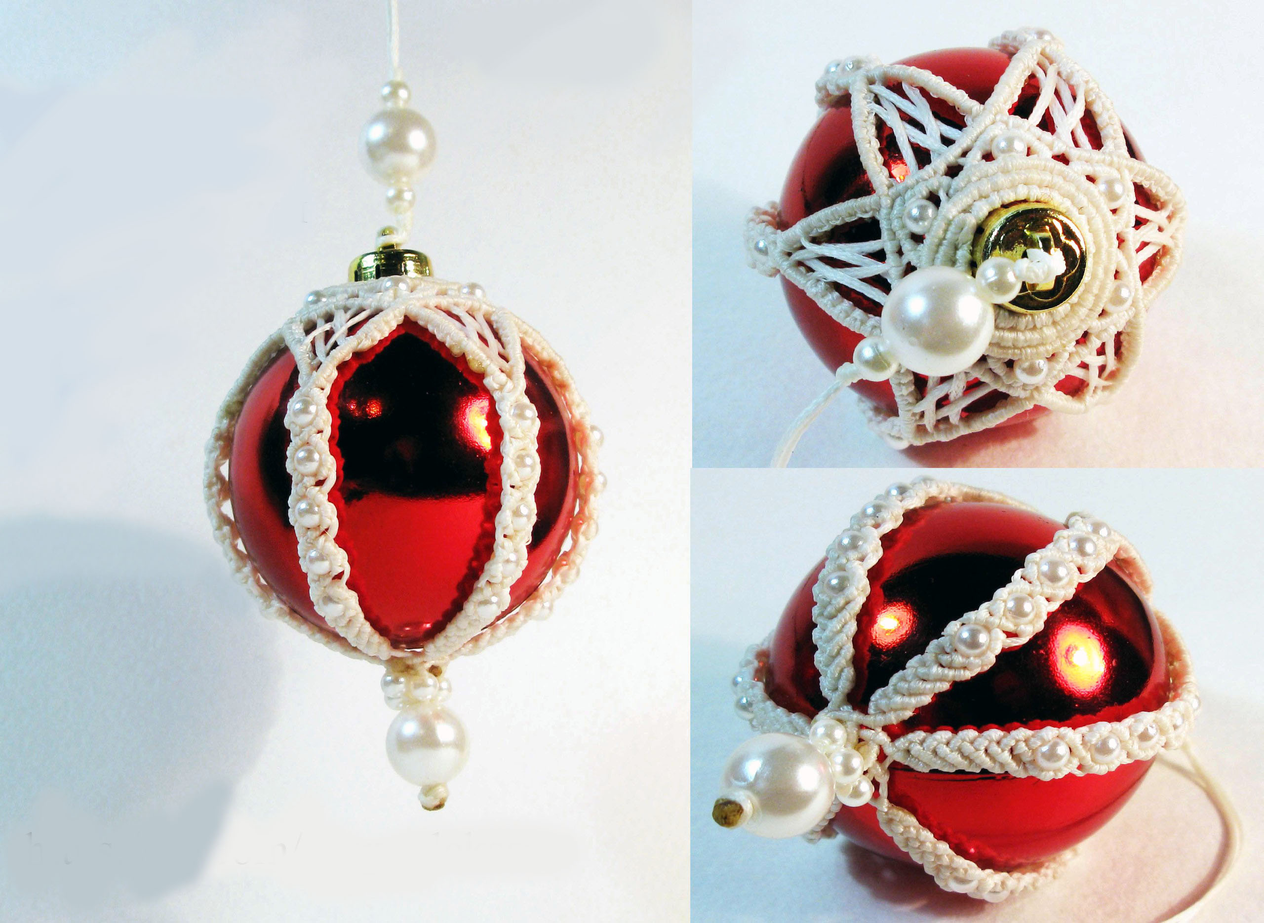 Nice Christmas ornaments Unique Knoty and Nice Macrame Christmas ornament Ideas Of Brilliant 50 Photos Nice Christmas ornaments
