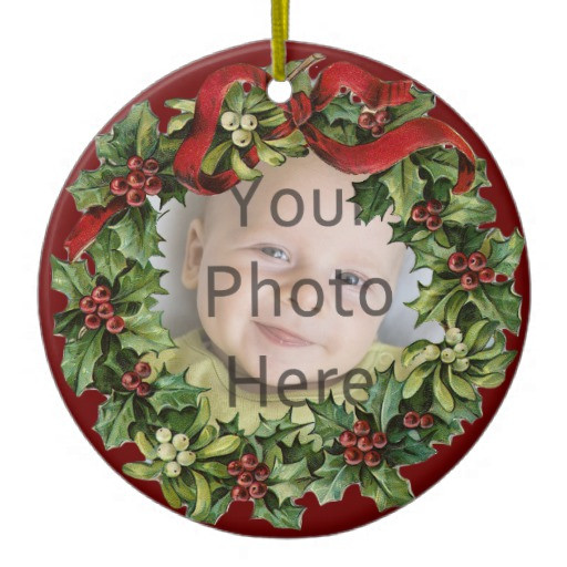 Nice Christmas ornaments Unique Nice Holly Wreath Baby S First Christmas ornament Of Brilliant 50 Photos Nice Christmas ornaments