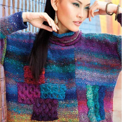 Noro Asymmetrical Pullover PDF at WEBS