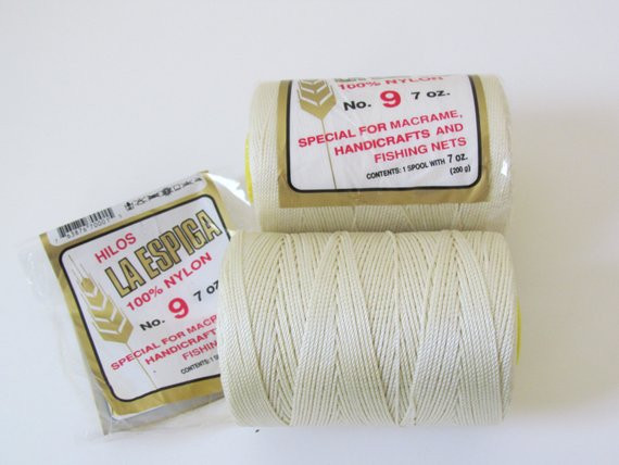 Nylon Crochet Thread Fresh Omega Nylon Crochet Thread Ivory Size 9 Hilos La Espiga Of Wonderful 41 Pics Nylon Crochet Thread