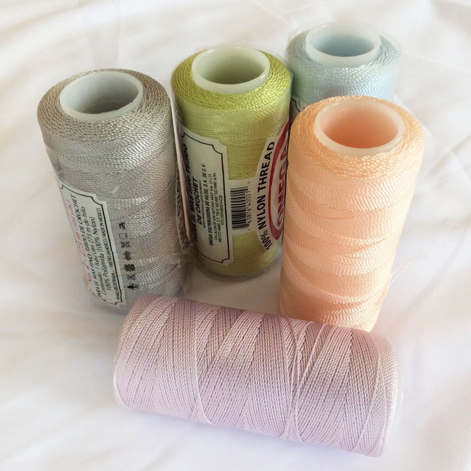Nylon Crochet Thread Inspirational 5 assorted Nylon Thread Crochet Thread Nylon Knitters Of Wonderful 41 Pics Nylon Crochet Thread