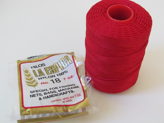 Nylon Crochet Thread Lovely Omega Nylon Crochet Thread Red Size 18 Hilos La Espiga Of Wonderful 41 Pics Nylon Crochet Thread