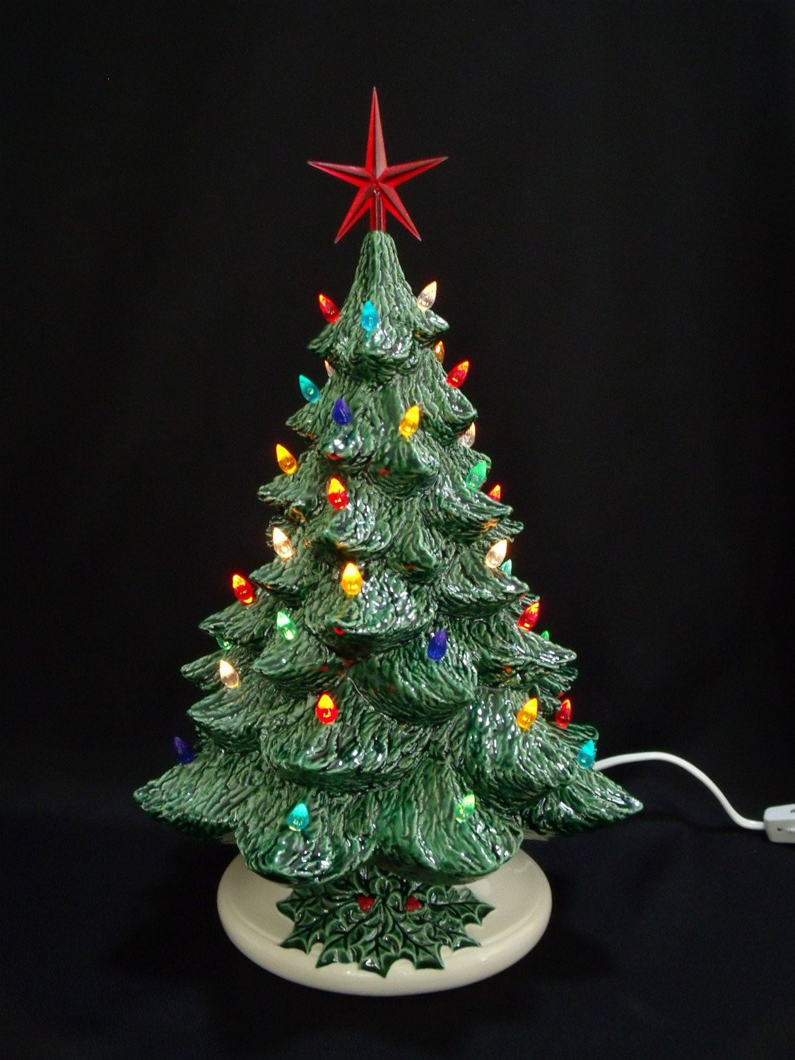 Old Fashioned Christmas Tree Awesome Old Fashioned Ceramic Christmas Tree 16 Inches Of Amazing 43 Photos Old Fashioned Christmas Tree