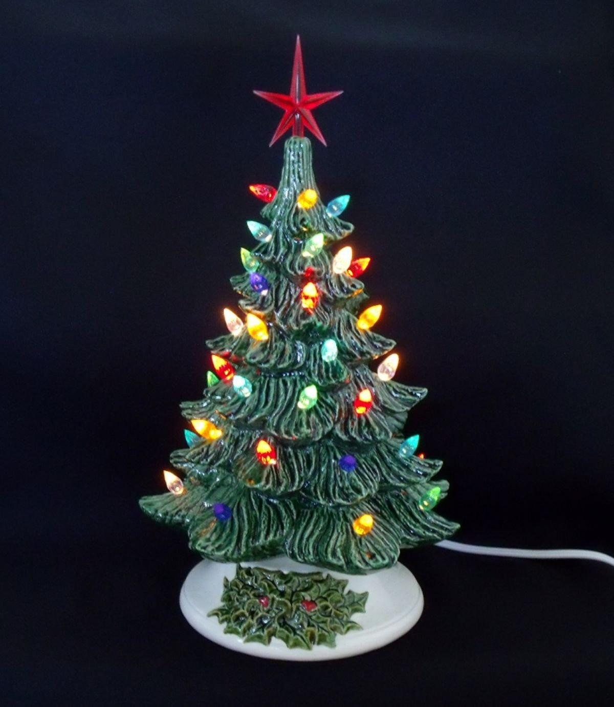 Old Fashioned Christmas Tree Inspirational Old Fashioned Ceramic Christmas Tree 11 Inches by Of Amazing 43 Photos Old Fashioned Christmas Tree