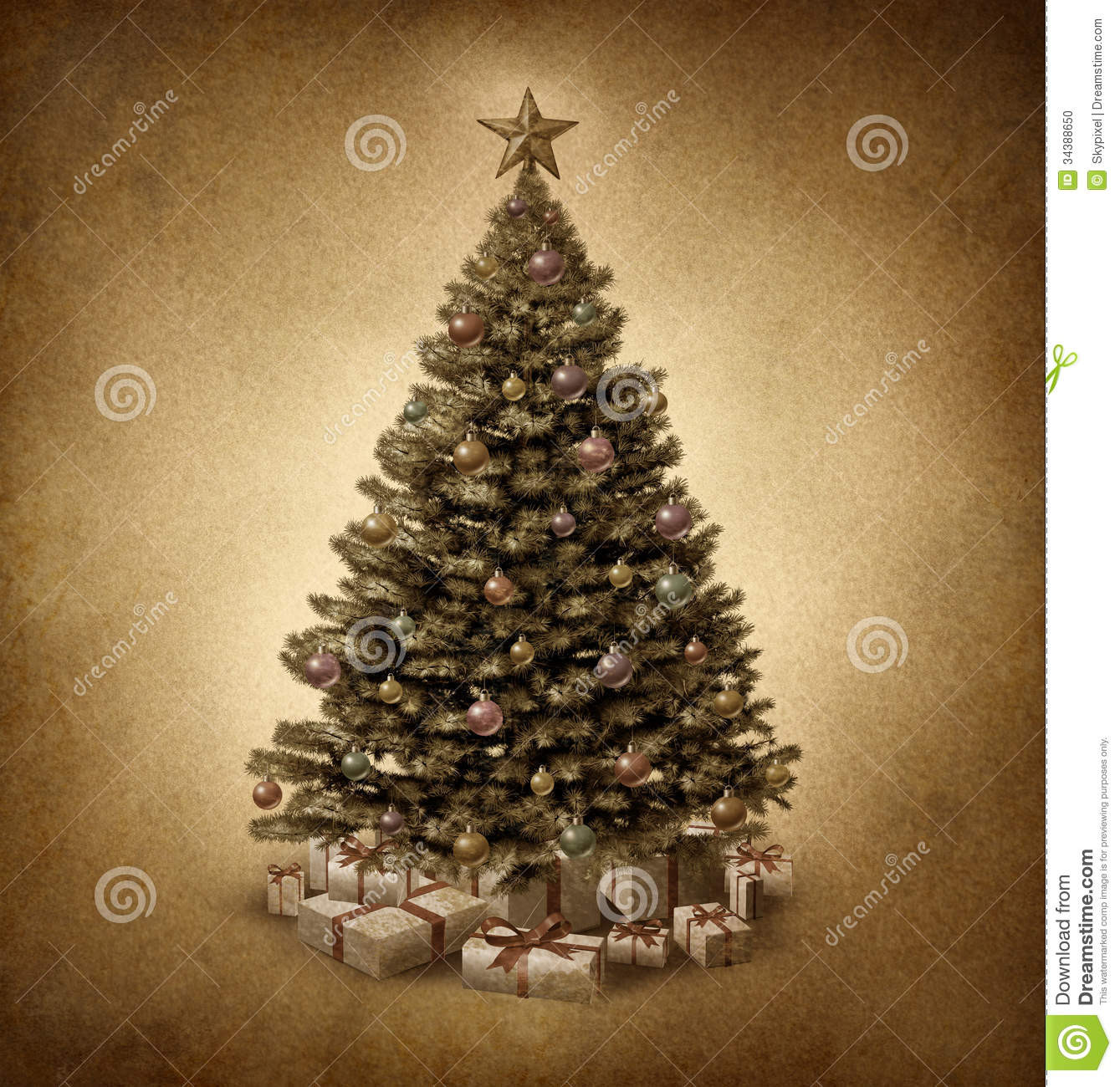 Old Fashioned Christmas Tree Unique Old Fashioned Christmas Tree Stock Illustration Of Amazing 43 Photos Old Fashioned Christmas Tree