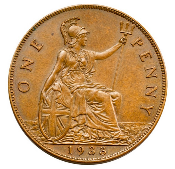 Old Penny Value Awesome O'brien Rare Coin Review why is the 1933 British Penny so Of Luxury 43 Pics Old Penny Value