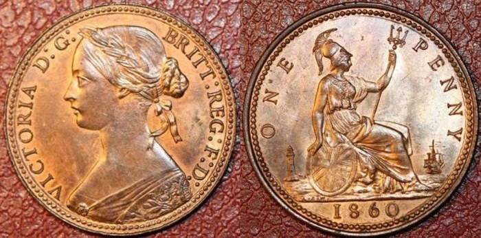 of Coins of the UK The Penny 3