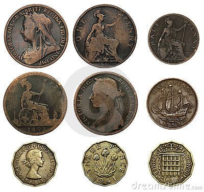 Old Penny Value Unique Old British Coins On Pinterest Of Luxury 43 Pics Old Penny Value