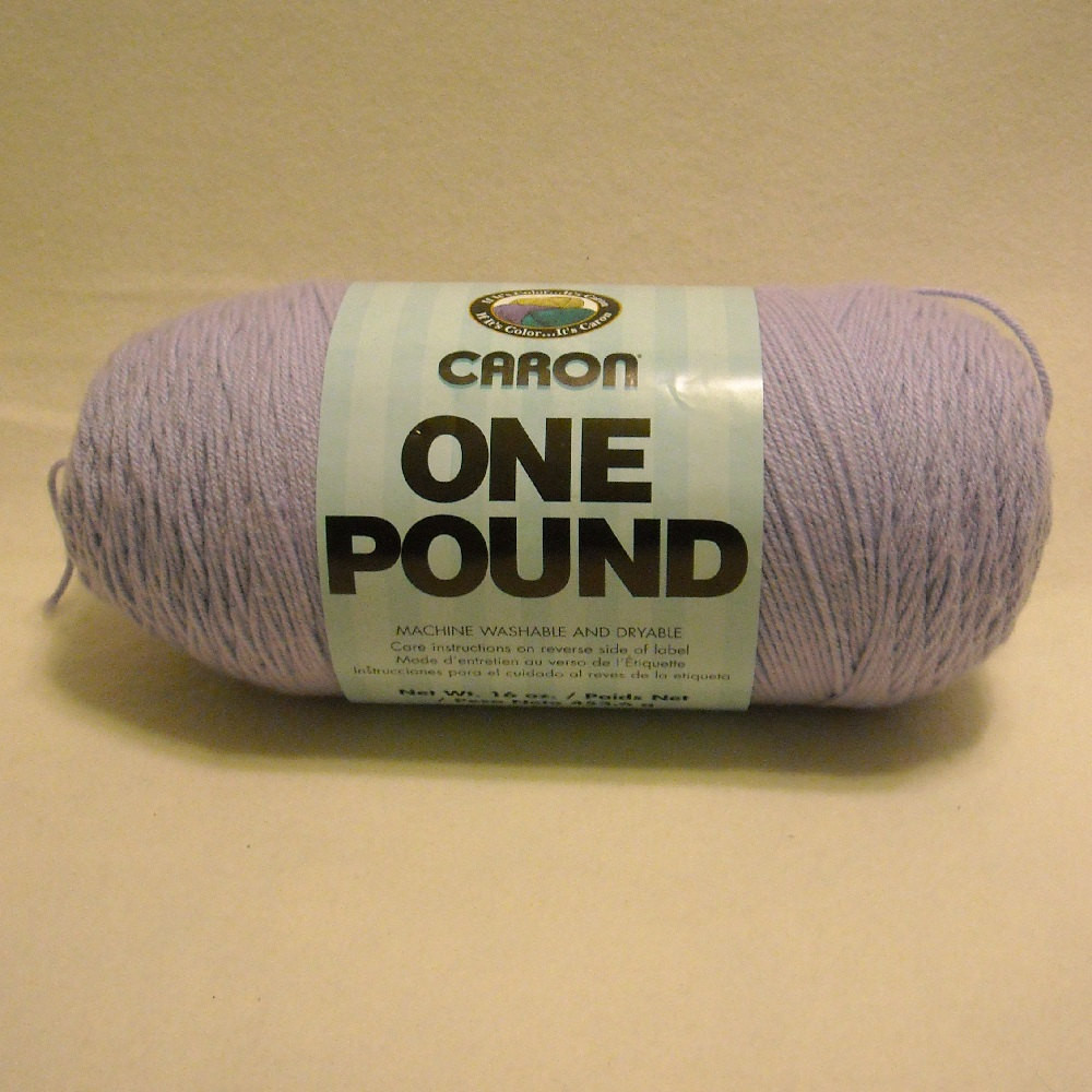One Pound Yarn Lovely 1 Skein Caron One Pound Yarn solid Color Lilac 557 No Dye Of Perfect 42 Models One Pound Yarn