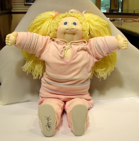 88 Original Cabbage Patch Doll 1984 w papers Lot 88