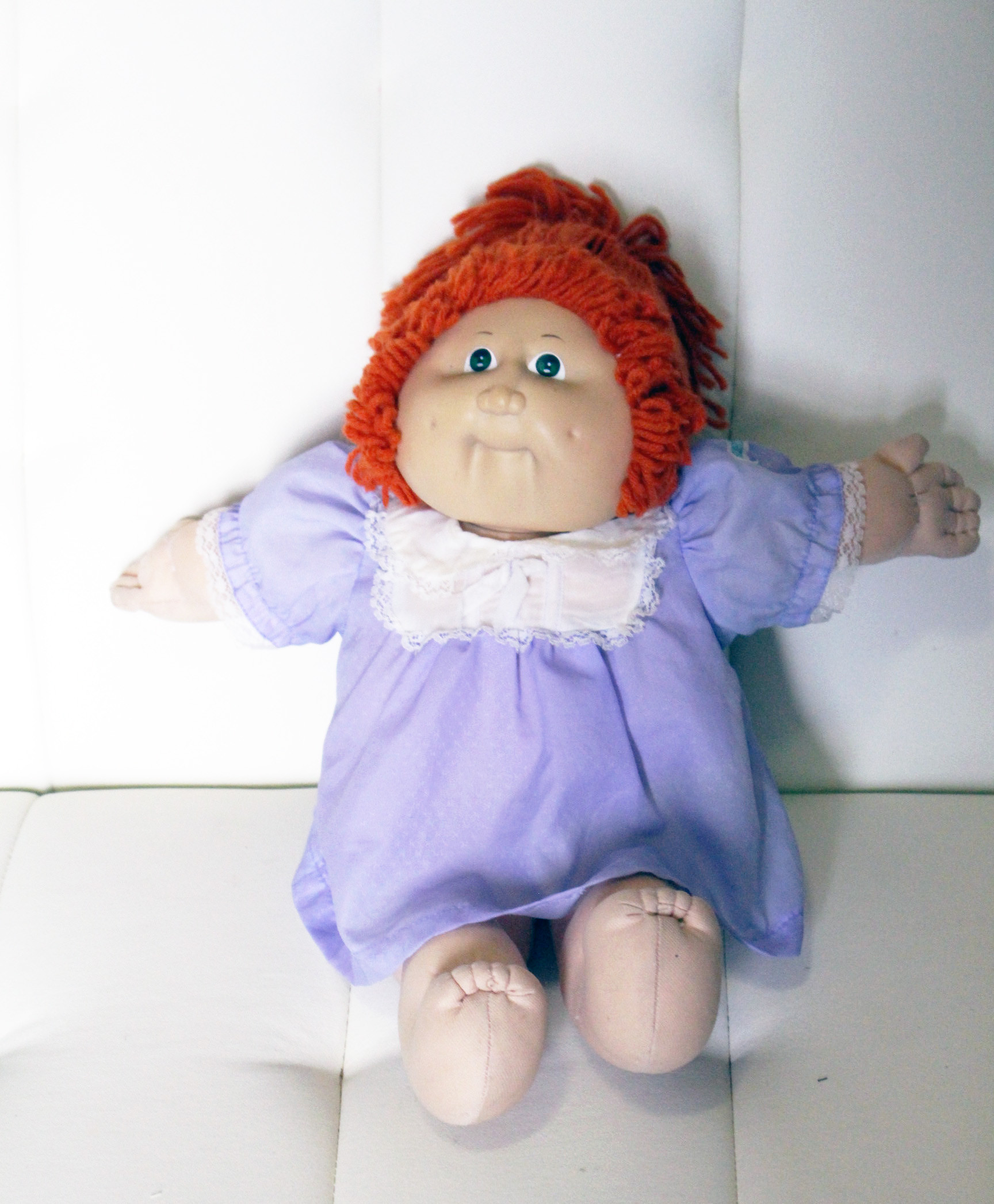 ORIGINAL RED HAIRED CABBAGE PATCH KIDS DOLL XAVIER ROBERTS