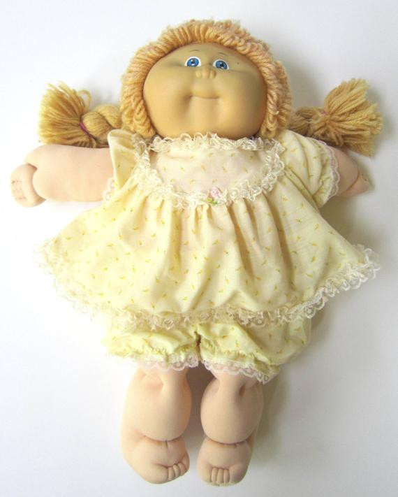 vintage 1985 original cabbage patch doll