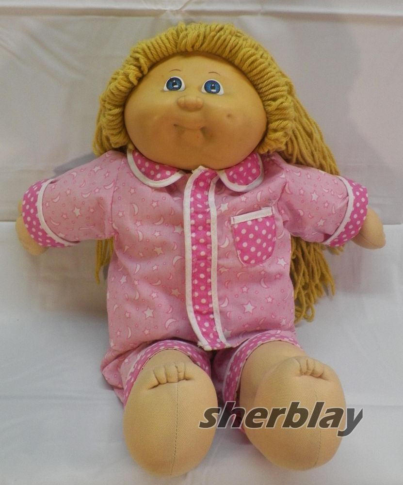 Vintage Original 1985 Cabbage Patch Kids Doll with 2005
