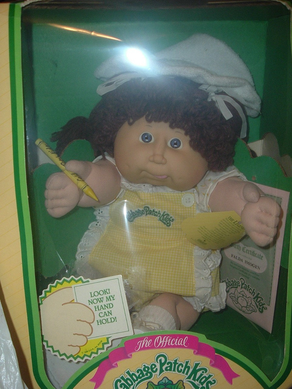 1983 Original Cabbage Patch Doll NIB Reserved for M Barnett