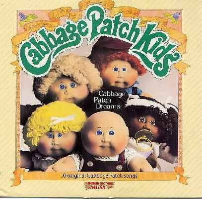 Cabbage Patch Kids Dolls 1980's