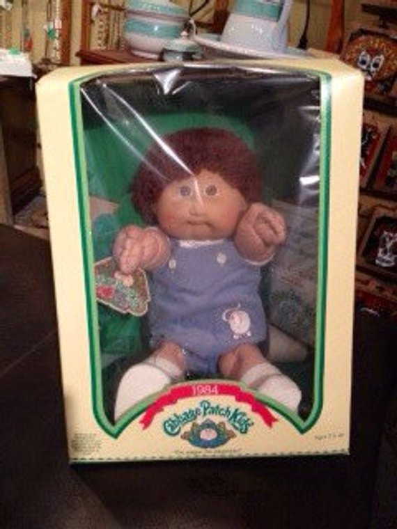 Original Cabbage Patch Kids Lovely 1984 Cabbage Patch Kids original Box with original Paperwork Of New 43 Pictures original Cabbage Patch Kids
