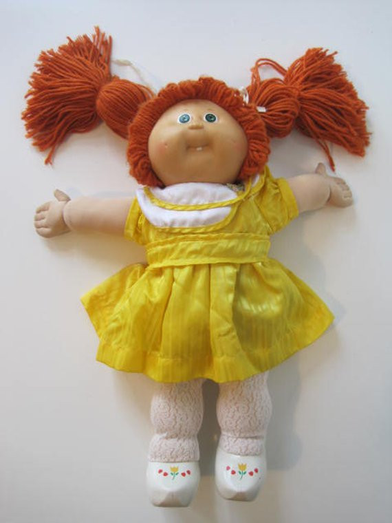 Original Cabbage Patch Kids Luxury Cabbage Patch Kids Doll Girl tooth 1985 Coleco P Green Eyes Of New 43 Pictures original Cabbage Patch Kids