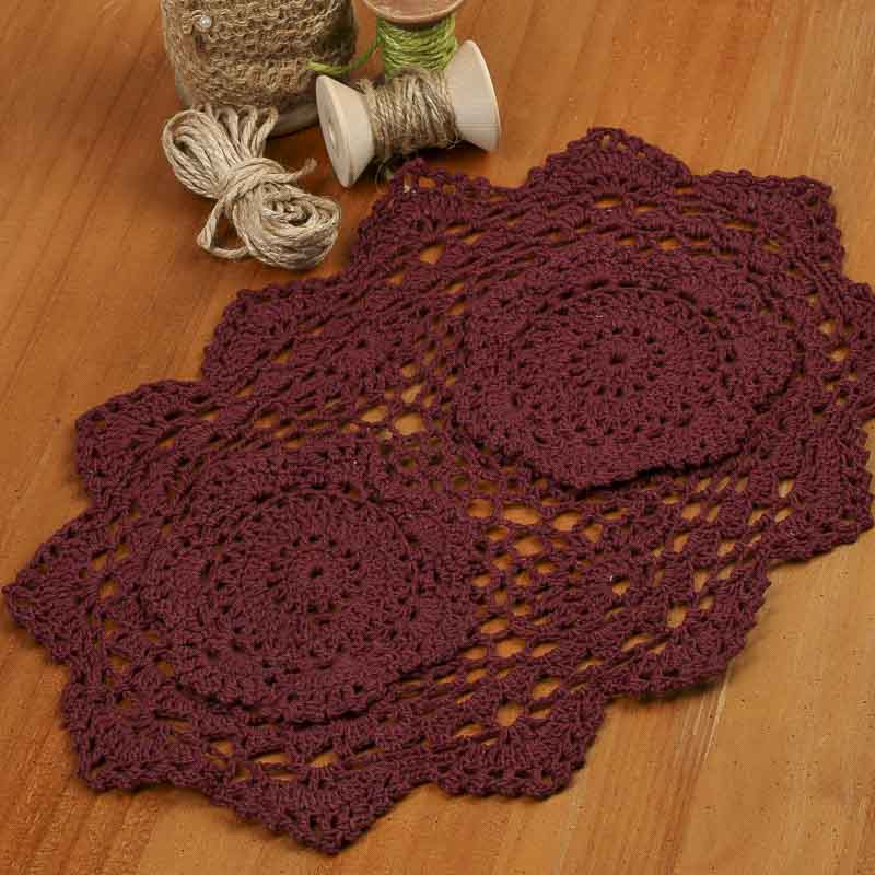 Free Crochet Patterns For Oval Doilies Dancox for