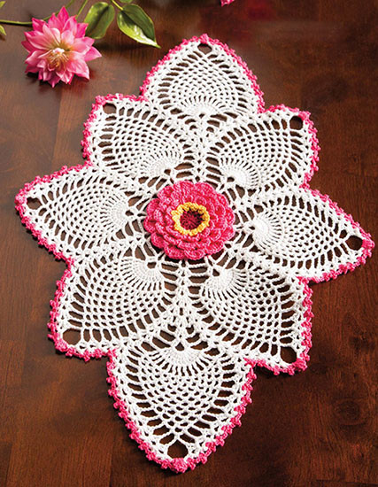 Oval Crochet Doily Patterns Free Lovely Craft Passions Oval Pineapple Doily Free Crochet Of Lovely 42 Models Oval Crochet Doily Patterns Free
