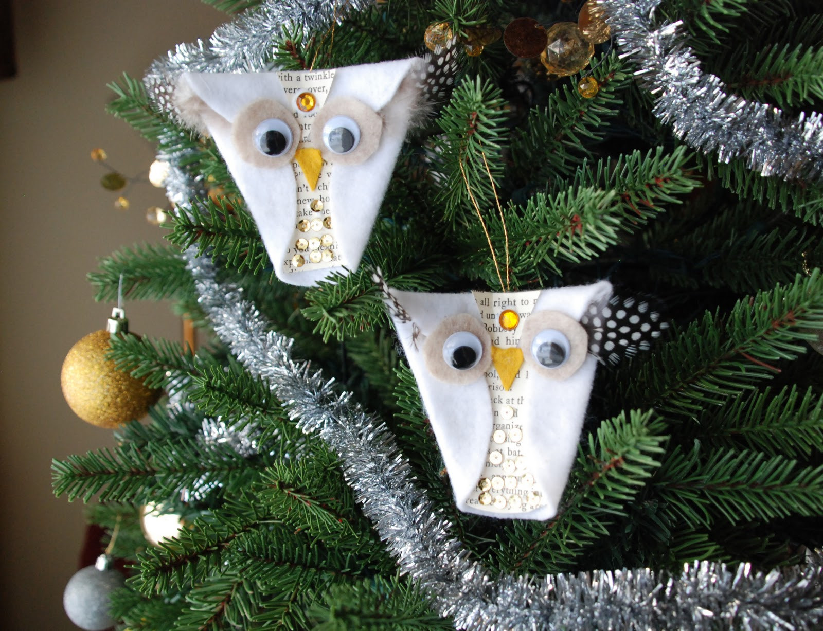 Owl Christmas ornaments Awesome that Artist Woman Snowy Owl ornaments Of Contemporary 45 Pictures Owl Christmas ornaments