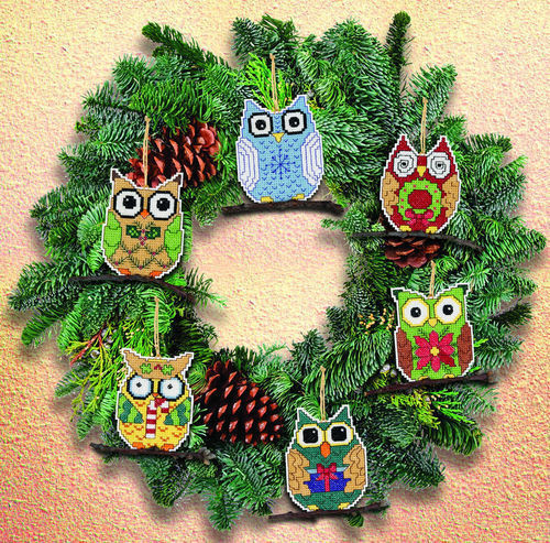 Owl Christmas ornaments Fresh Owl Christmas Tree ornaments Decorations Counted Cross Of Contemporary 45 Pictures Owl Christmas ornaments