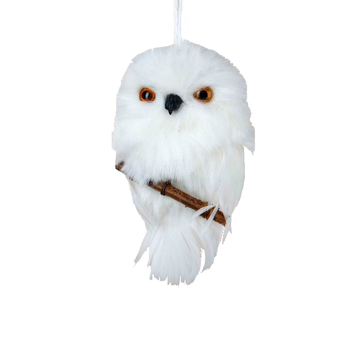 Owl Christmas ornaments New White Owl with Branch Christmas ornament Of Contemporary 45 Pictures Owl Christmas ornaments