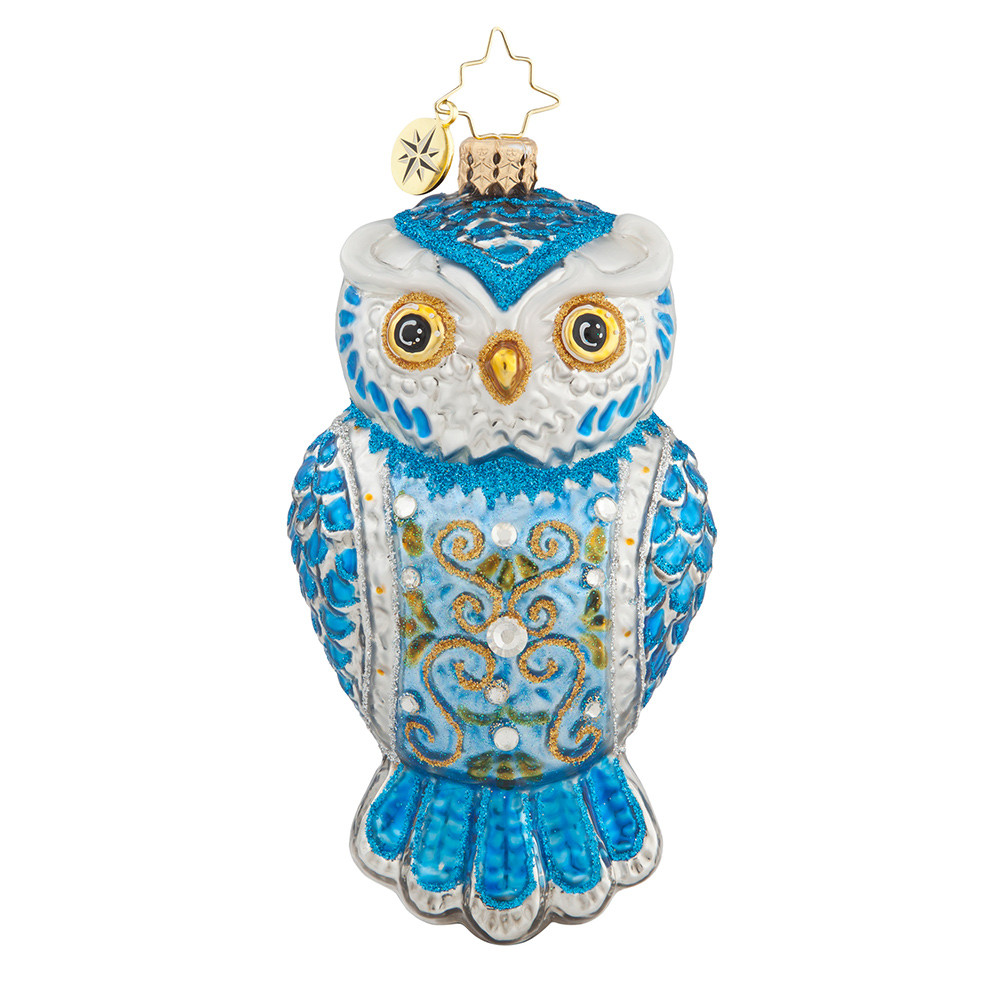 Owl Christmas ornaments Unique Christopher Radko ornaments 2016 Of Contemporary 45 Pictures Owl Christmas ornaments