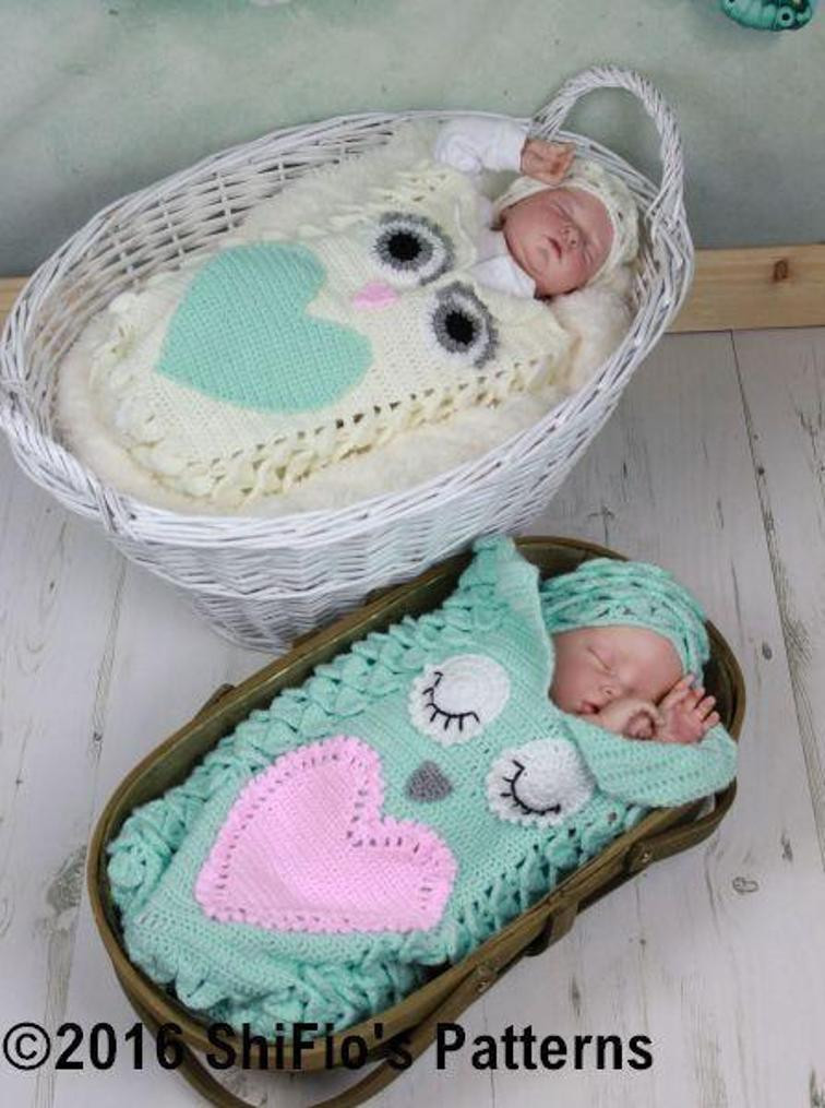 Owl Cocoon Crochet Pattern Elegant Crochet Baby Cocoon Patterns On Craftsy Of Perfect 44 Models Owl Cocoon Crochet Pattern