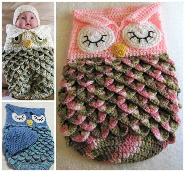 Owl Cocoon Crochet Pattern Elegant Handmade Sleeping Baby Owl Cocoon Of Perfect 44 Models Owl Cocoon Crochet Pattern