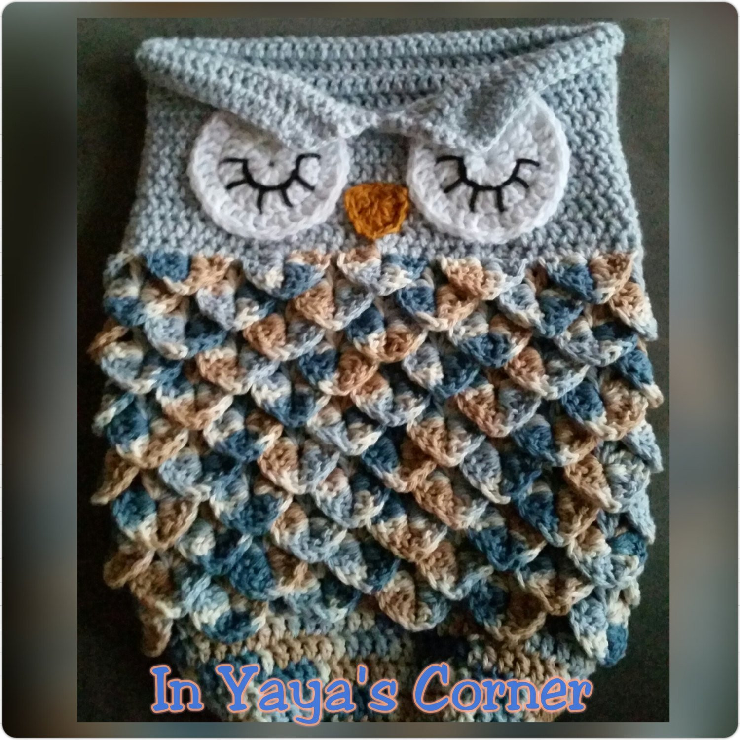 Owl Cocoon Crochet Pattern Fresh Crochet Baby Owl Cocoon Baby Sack Sleeping Owl Of Perfect 44 Models Owl Cocoon Crochet Pattern