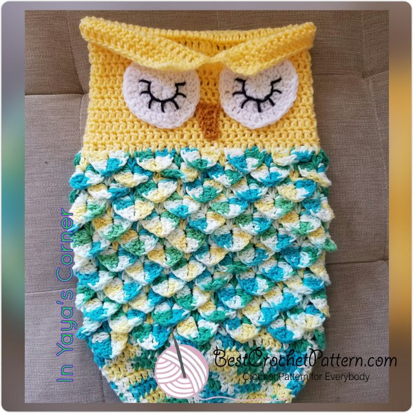 Owl Cocoon Crochet Pattern Inspirational Owl Cocoon Crochet Pattern Of Perfect 44 Models Owl Cocoon Crochet Pattern