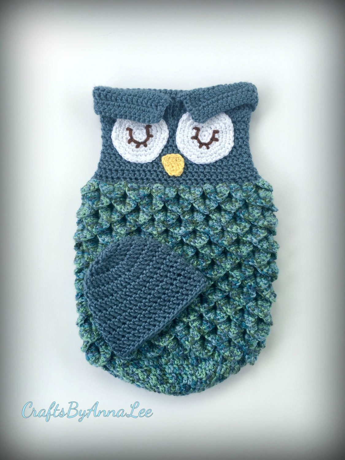 Owl Cocoon Crochet Pattern Lovely Crocheted Owl Sleep Sack Cocoon Of Perfect 44 Models Owl Cocoon Crochet Pattern