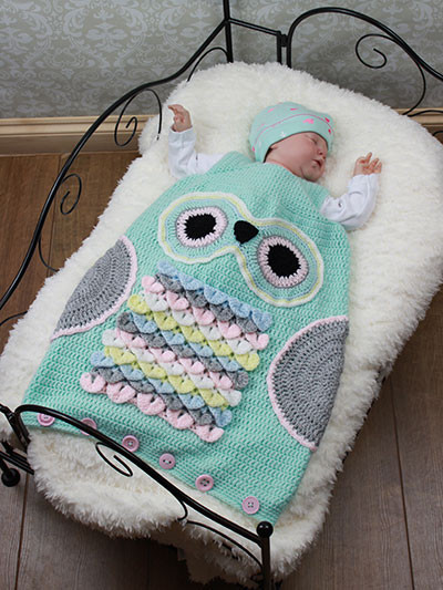 Owl Cocoon Crochet Pattern Unique Crochet Cute Baby Owl Cocoon with Pattern Page 2 Of 2 Of Perfect 44 Models Owl Cocoon Crochet Pattern