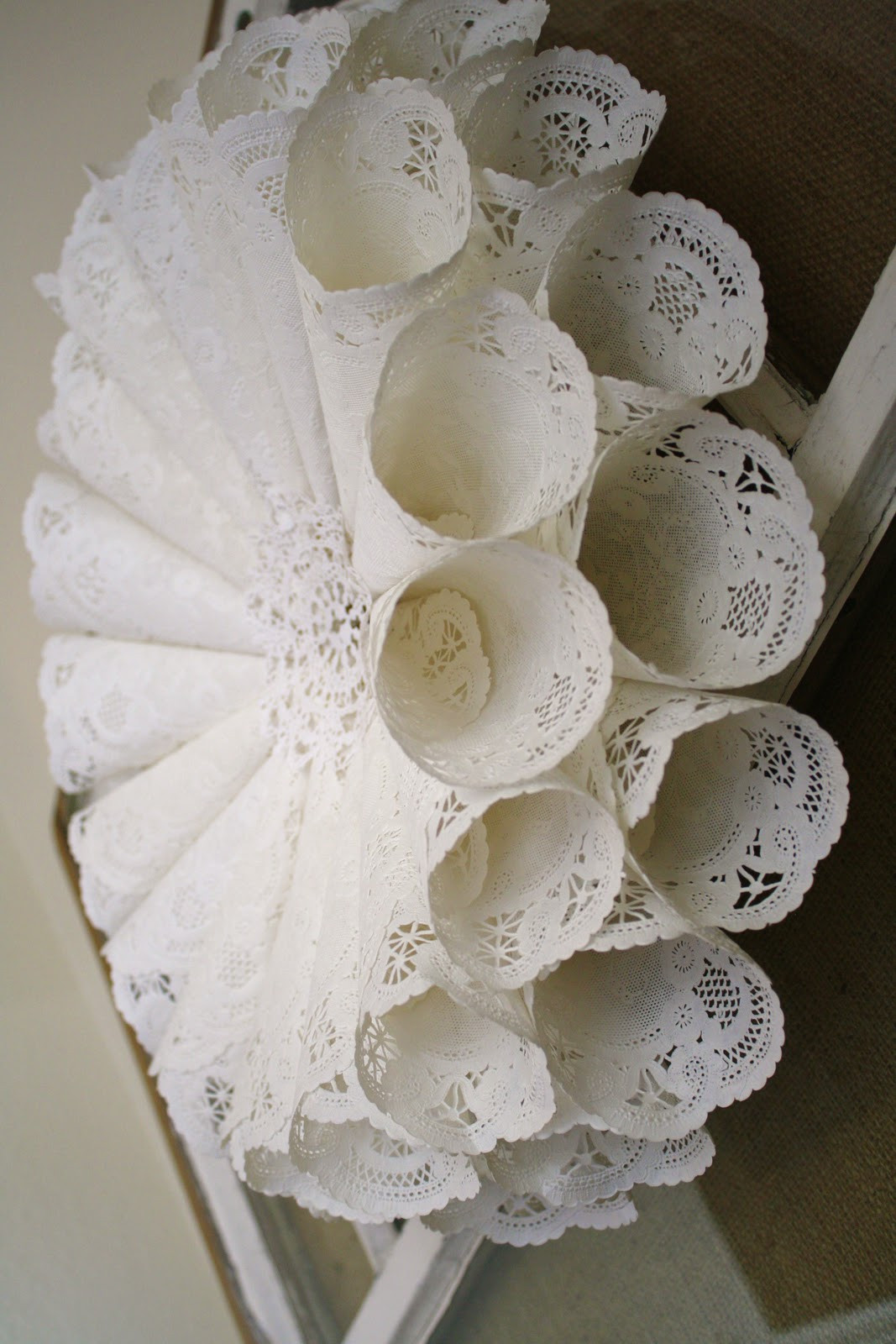 Paper Doilies Luxury Paper Doily Wreath Of Gorgeous 42 Pics Paper Doilies