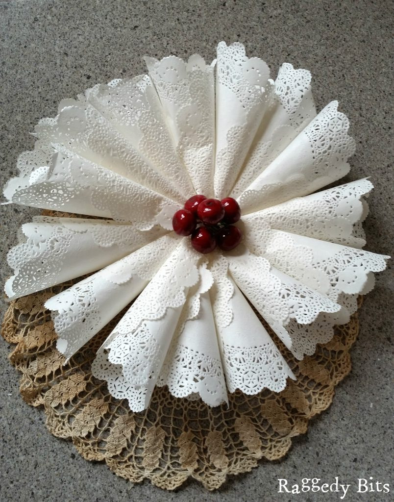 Paper Doily Crafts Awesome 3 Easy Vintage Paper Doily Crafts for Christmas Raggedy Bits Of Beautiful 42 Images Paper Doily Crafts