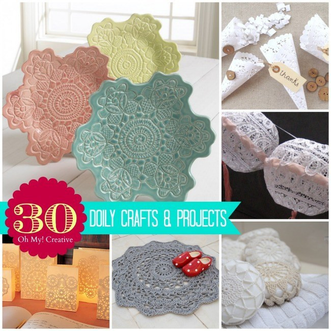 Paper Doily Crafts Inspirational 30 Diy Doily Crafts Oh My Creative Of Beautiful 42 Images Paper Doily Crafts