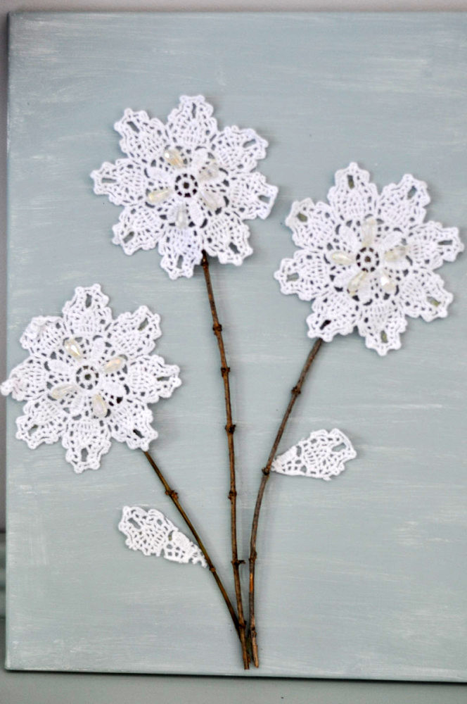 Gorgeous DIY Paper Doily Crafts That Will Take Your Breath