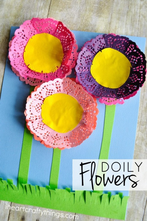 Paper Doily Crafts Luxury Colorful Paper Doily Flowers Of Beautiful 42 Images Paper Doily Crafts