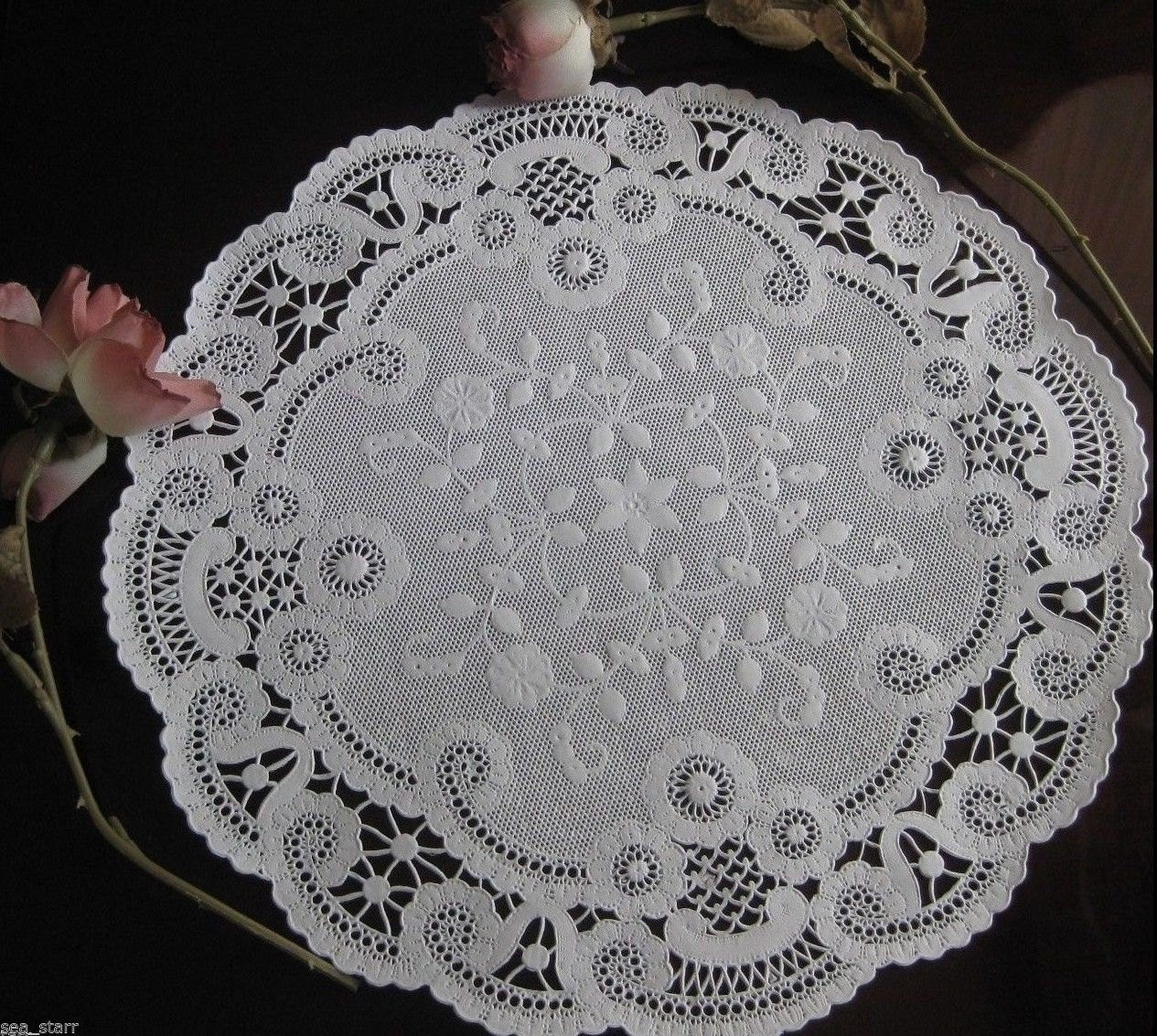 Paper Lace Doilies Awesome 12 Inch White French Paper Lace Dainty Doilies by Of New 46 Models Paper Lace Doilies