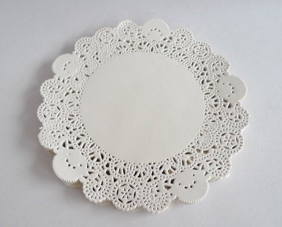 100 French Lace Paper Doilies Doily 6 5 diameter