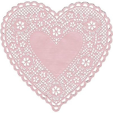 "Paper Lace Doilies Lovely Hygloss Heart Paper Lace Doilies 6"" Pink Of New 46 Models Paper Lace Doilies"