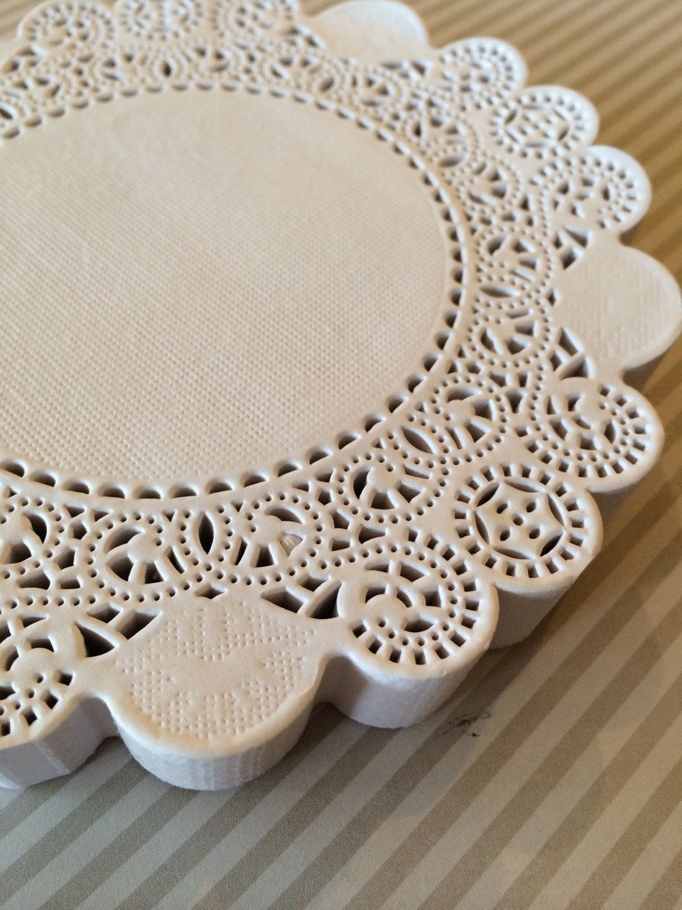 100 French Lace Round Paper Doilies 12 inch by isakayboutique