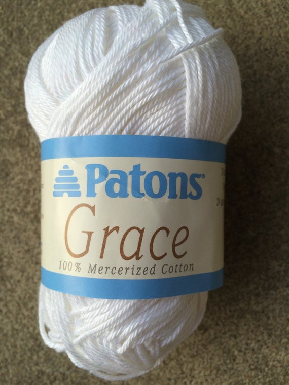 Patons Grace Fresh Patons Grace Cotton Yarn 2 Skeins White Of Top 46 Pictures Patons Grace