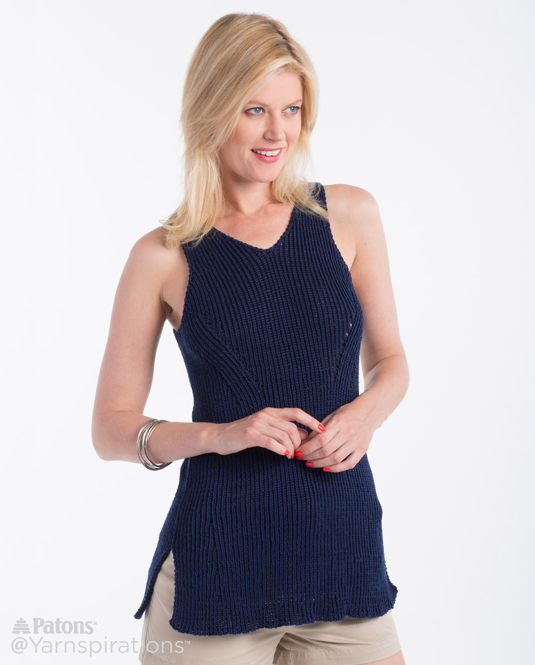 Patons Grace Lovely Knit Shifting Rib Tank Knit Tank Of Top 46 Pictures Patons Grace