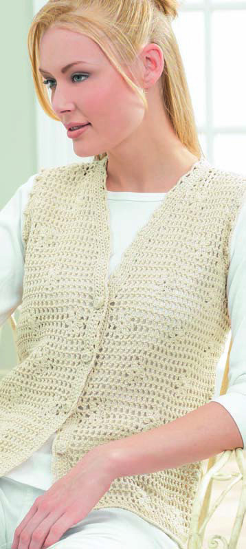 Patons Grace Luxury Daisy Mesh Vest In Patons Grace Of Top 46 Pictures Patons Grace