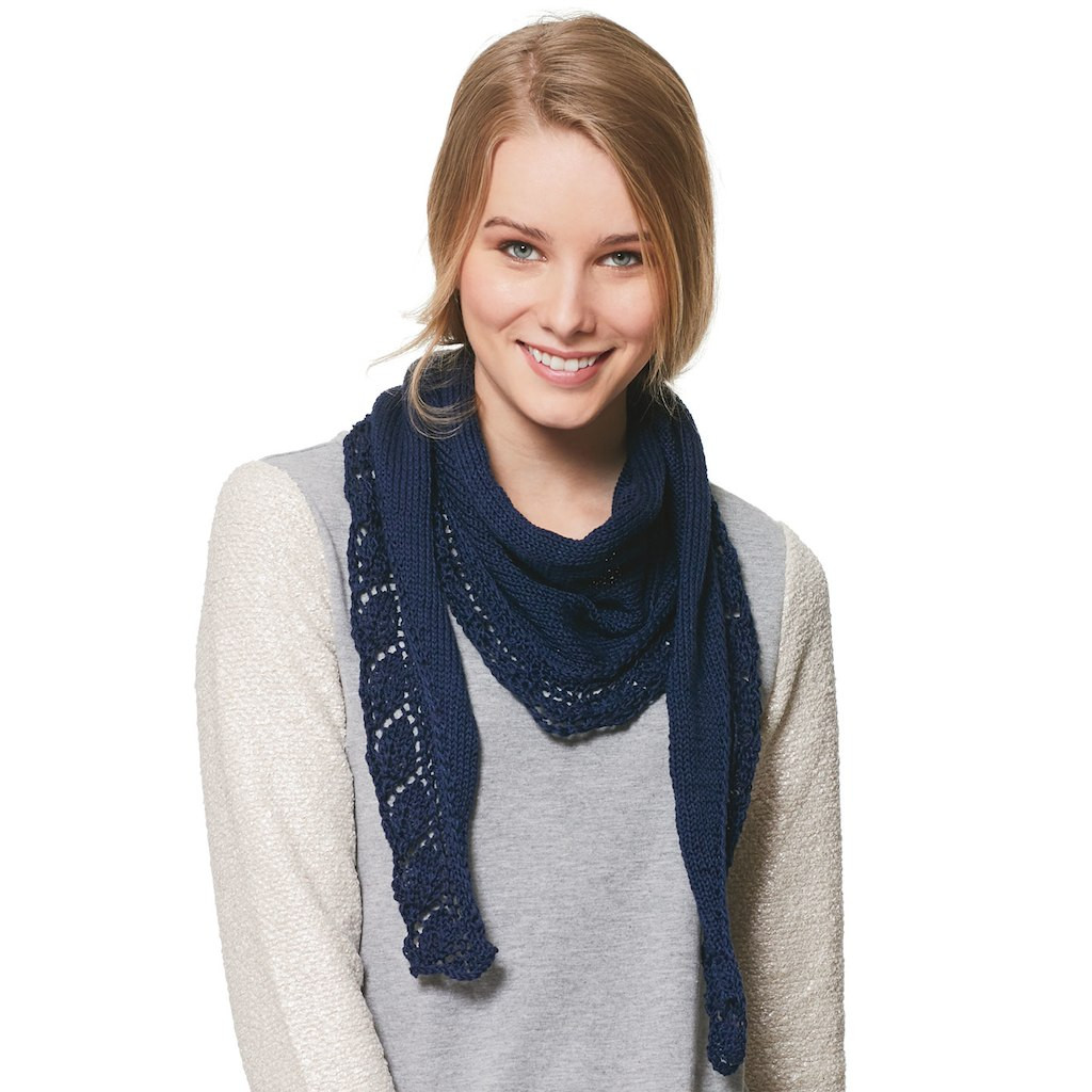 Patons Grace New Patons Grace™ Lacey Leaf Scarflette Knit Of Top 46 Pictures Patons Grace