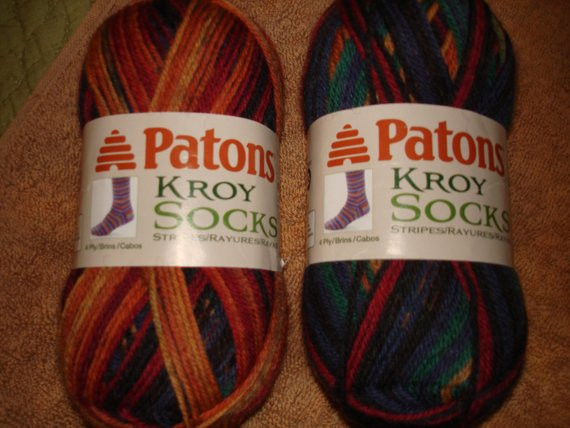 Patons Kroy socks New Patons Kroy sock Yarn Rainbow Stripes From Of Gorgeous 46 Images Patons Kroy socks