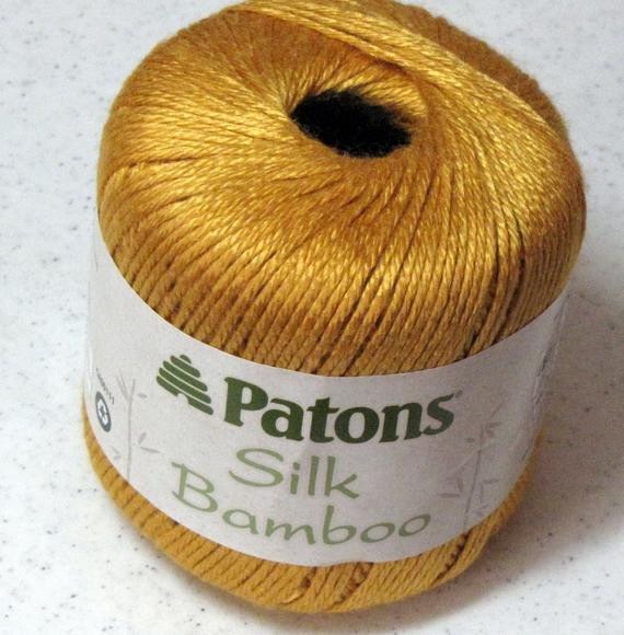 Patons Silk Bamboo Awesome Patons Silk Bamboo Yarn Saffron by theirresistibleewe On Etsy Of Innovative 41 Photos Patons Silk Bamboo